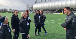 SALSA walking sports tour
