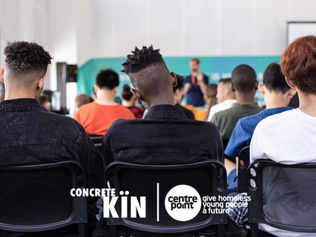 Centrepoint & Concrete Kïn Partner To Give Young People Effected By Homelessness A Future