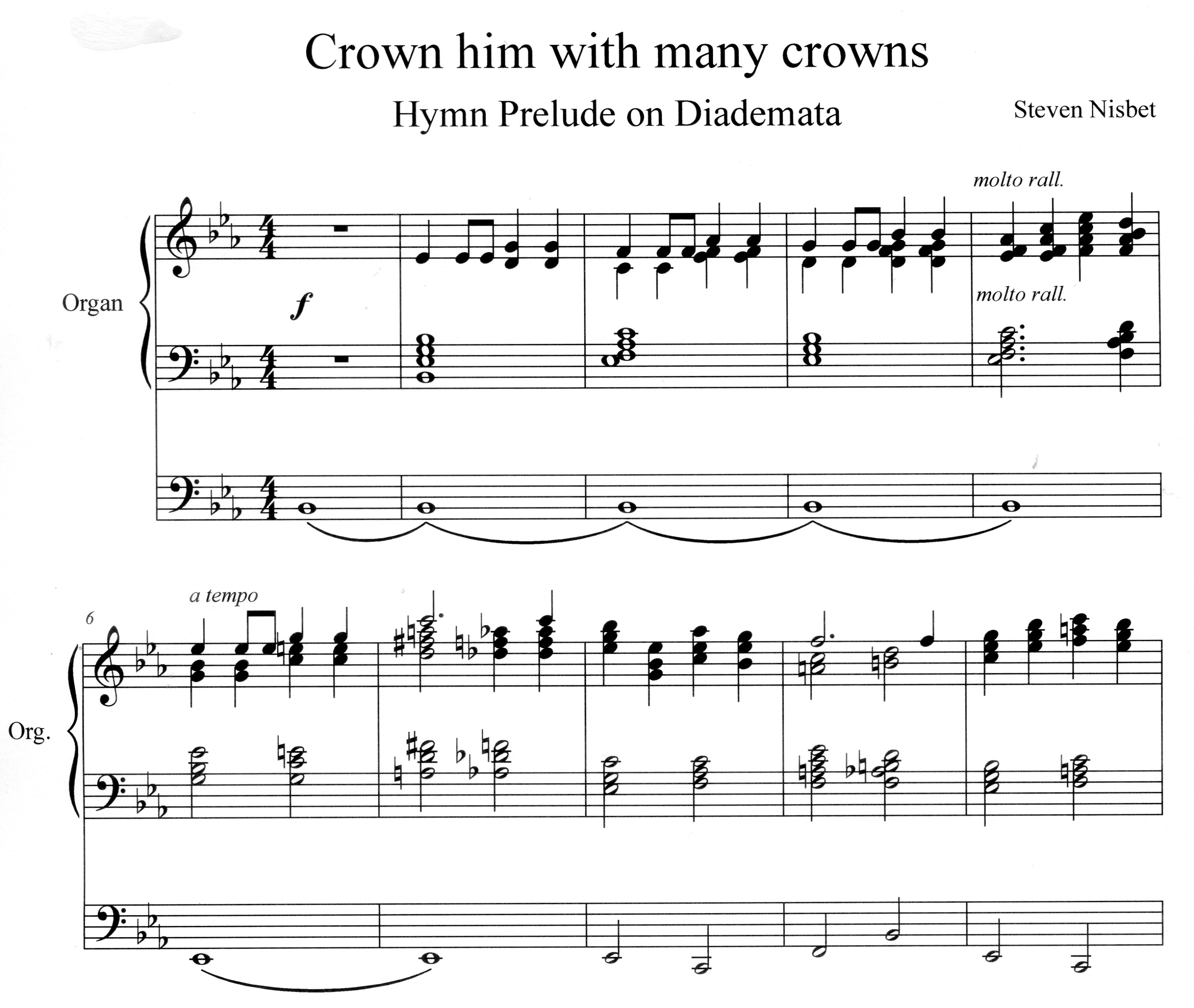 Hymn Preludes - Book 1 - samples -  Crow