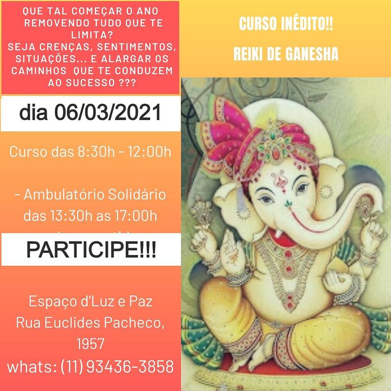 Curso Reiki de Ganesha PRESENCIAL