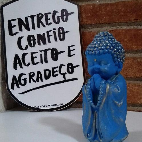 Buda Baby Namastê e Japamala - Azul e Dourado