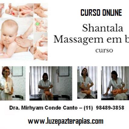 Massagem em bebês - ONLINE