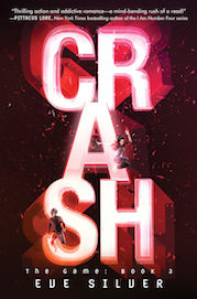 Crash by Eve Silver author, young adult, science fiction romance