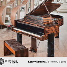 The Steinway & Sons Kravitz Grand  - Steinway & Sons and Lenny Kravitz created a limited edition piano that retails for $500,000 USD. Steinway & Sons will produce no more than 10 Kravitz Grand pianos, which will be the only ones that will ever be made.