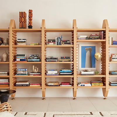 PIER Bookcase by Jamie Bush  + Co