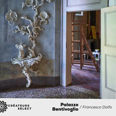 Palazzo Bentivoglio project Francesco Dolfo  - Innovation, in the artistic field, has often been delegated to enlightened patrons. It still happens nowadays, and this wonderful location in Bologna is the living proof of it. Settled in Palazzo Bentivoglio, former property of the family who, in the fifteenth century , were the lords of Bologna. All this wonderful space has been infused with new life when it suddenly became an important part of a local couple's life.
