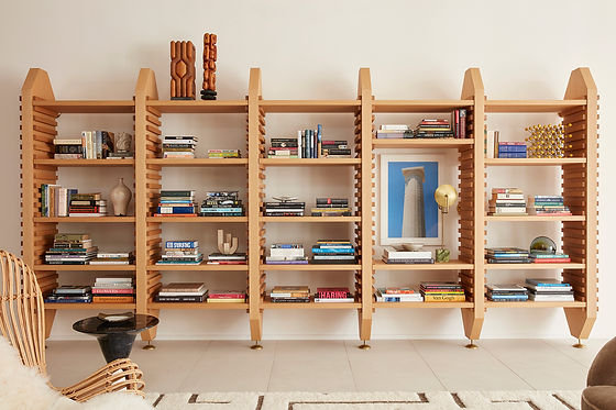 CDA Winner PIER Bookcase by Jamie Bush
