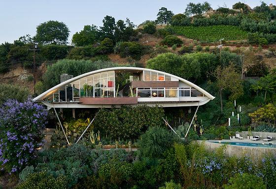 John Lautner/ Garcia House photographed