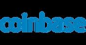 Hier sieht man das blaue Logo der Plattform Coinbase.Hier sieht man das blaue Logo der Plattform Coinbase.