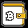 Hier sieht man ein Bitcoin Wallet.