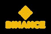 Auf diesem Bild ist das gelbe Binance Logo zu erkennen