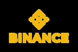 Hier ist das orangene Binance Logo zu sehen.