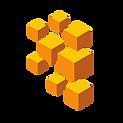 Hier sind mehrere, verschieden große gelbe Blöcke zu sehen.