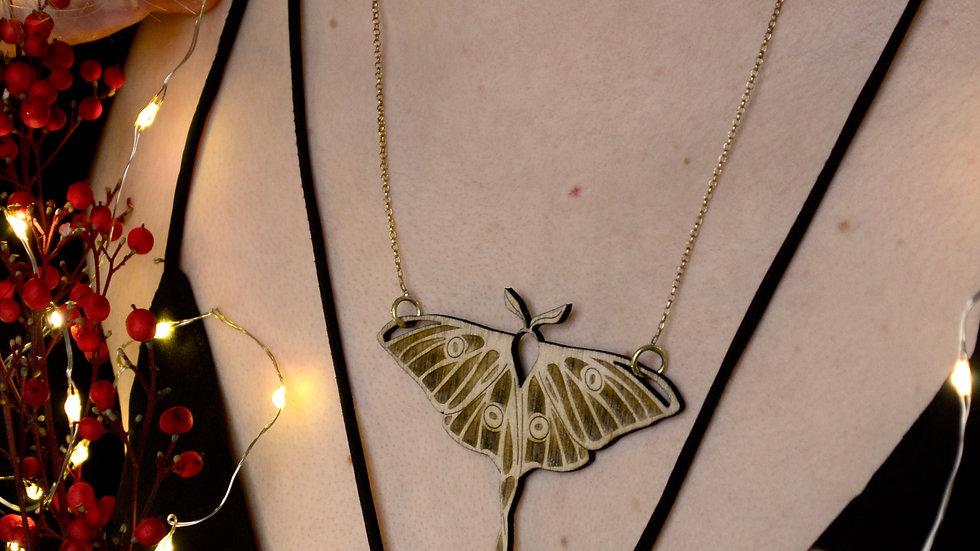 Collier Papillon de Lune