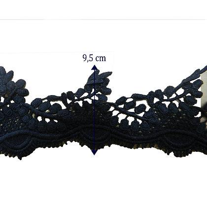 DXR490 - Entremeio 7,5 cm 100% poliéster