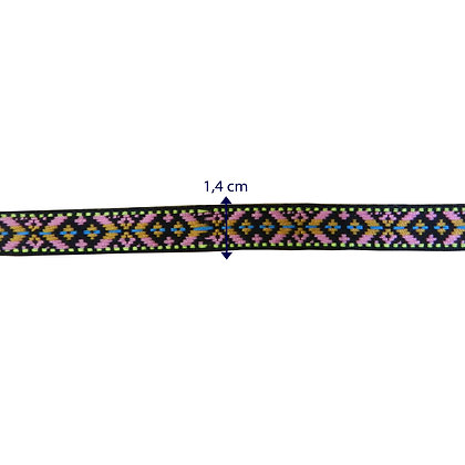 GLX74 - Galão com 1,4 cm rosa