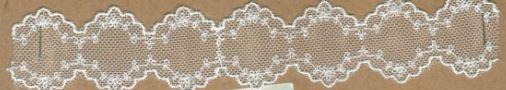 DXR538 - Entremeio 3,5 cm 100% poliéster