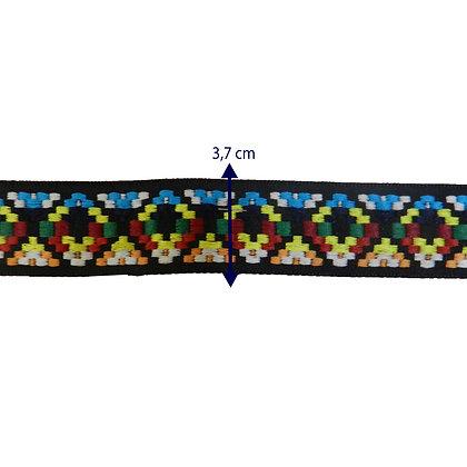 GLX33 - Galão etnico 3,7 cm
