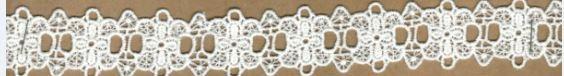 DXR578 - Entremeio 3 cm 100% poliéster