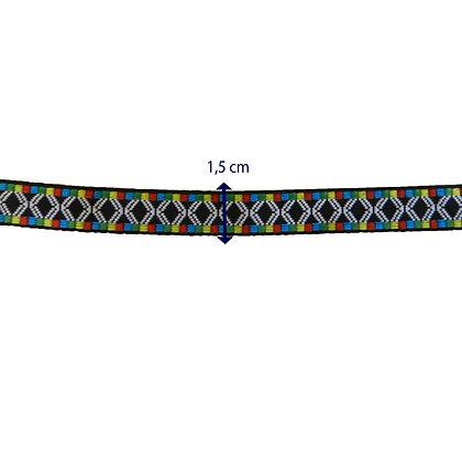 GLX24 - Galão com 1,5 cm - colorido