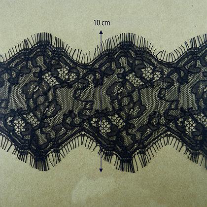 DXY109 - Renda Chantilly 10 cm