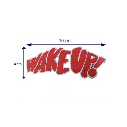 DXT179 - Patche termocolante - Wake up!