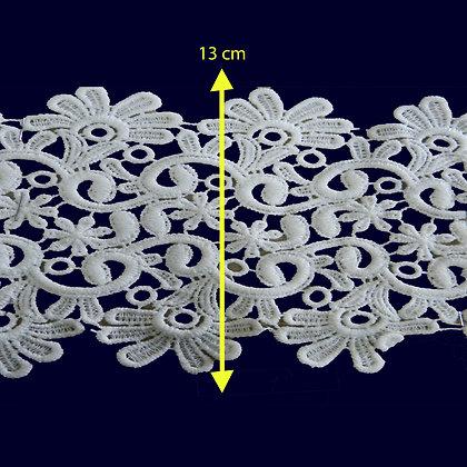DXR643 - Entremeio 13 cm 100% poliéster