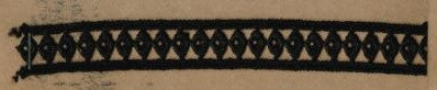 DXR474 - Entremeio 1,5 cm 100% poliéster
