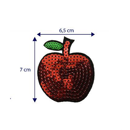 DXT176 - Patche termocolante - Maçã