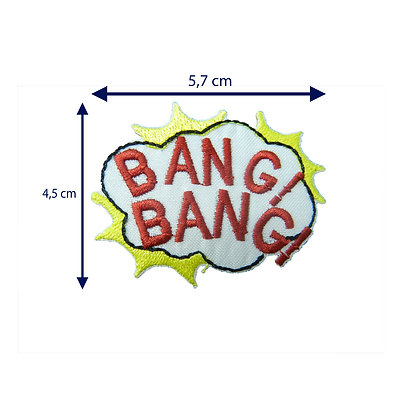 DXT42 - Patche termocolante - BANG! BANG!