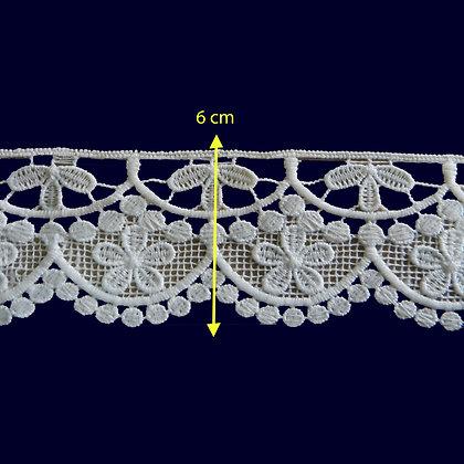 DXR870 - Bico 6 cm 100% poliéster