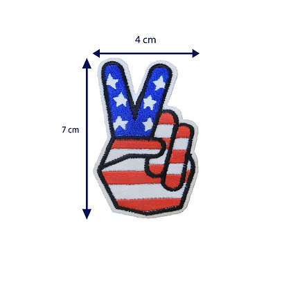DXT209 - Patche termocolante - Positivo americano
