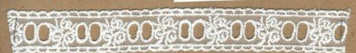 DXR575 - Entremeio 2,3 cm 100% poliéster