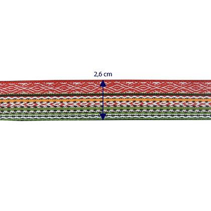 GLX37 - Galão com 2,6 cm de largura