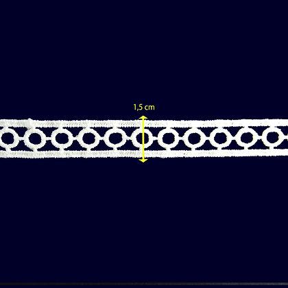 DXR510 - Entremeio 1,5 cm 100% poliéster
