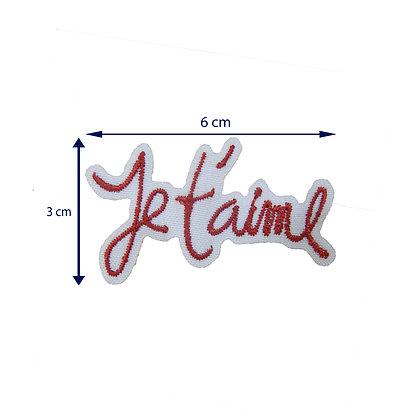DXT178 - Patche termocolante - Jet'aime