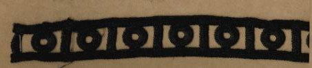DXR476 - Entremeio 2,3 cm 100% poliéster