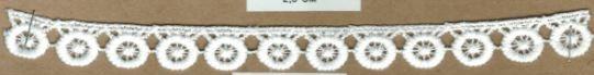 DXR750 - Bico 1,5 cm 100% poliéster