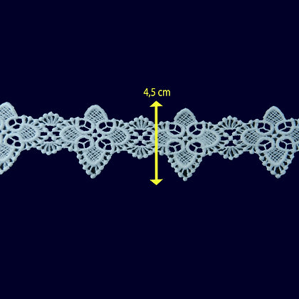 DXR929 - Entremeio 4,5 cm 100% poliéster