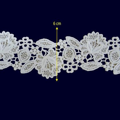DXR595 - Entremeio 6 cm 100% poliéster