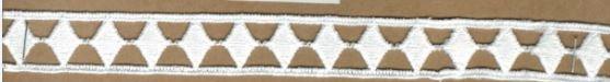DXR699 - Entremeio 2 cm 100% poliéster