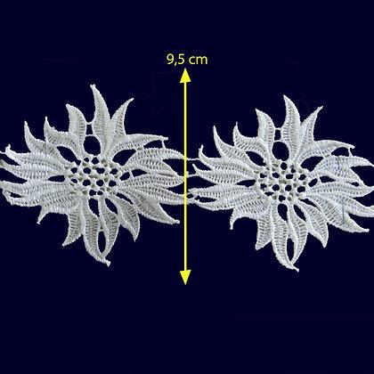 DXR637 - Entremeio 9,5 cm 100% poliéster