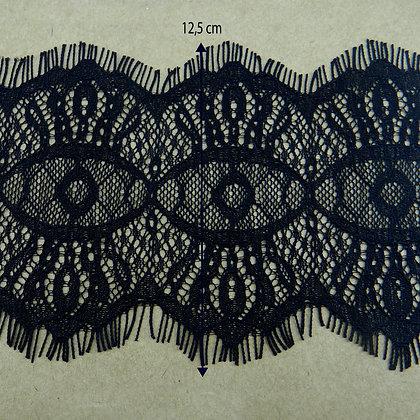 DXY129 - Renda Chantilly 12,5 cm