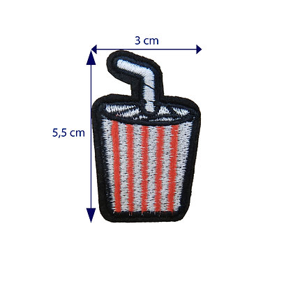 DXT220 - Patche termocolante - Copo de refrigerante