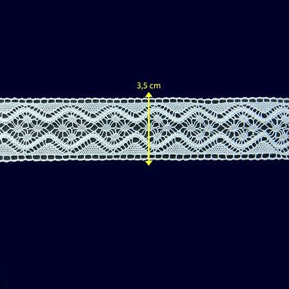 DXR895 - Entremeio 3,5 cm 100% poliéster