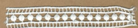 DXR695 - Entremeio 2,5 cm 100% Poliéster