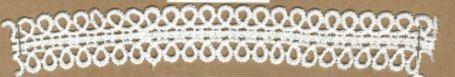 DXR702 - Entremeio 2 cm 100% poliéster
