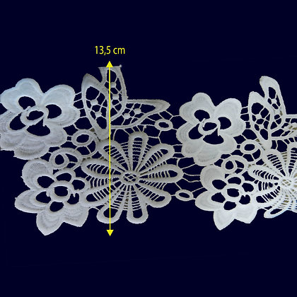 DXR500 - Entremeio 13,5 cm 100% poliéster