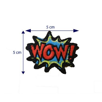 DXT221 - Patche termocolante - WOW!