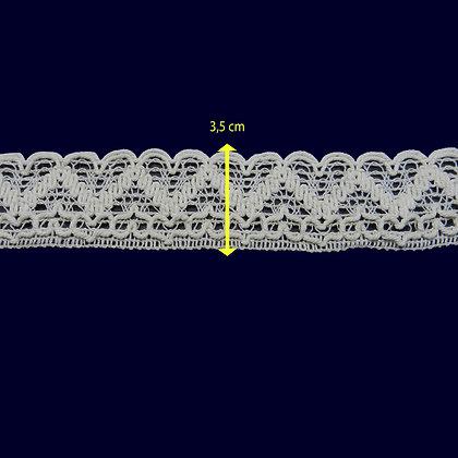 DXR35- Bico 3,5 cm 100% algodão